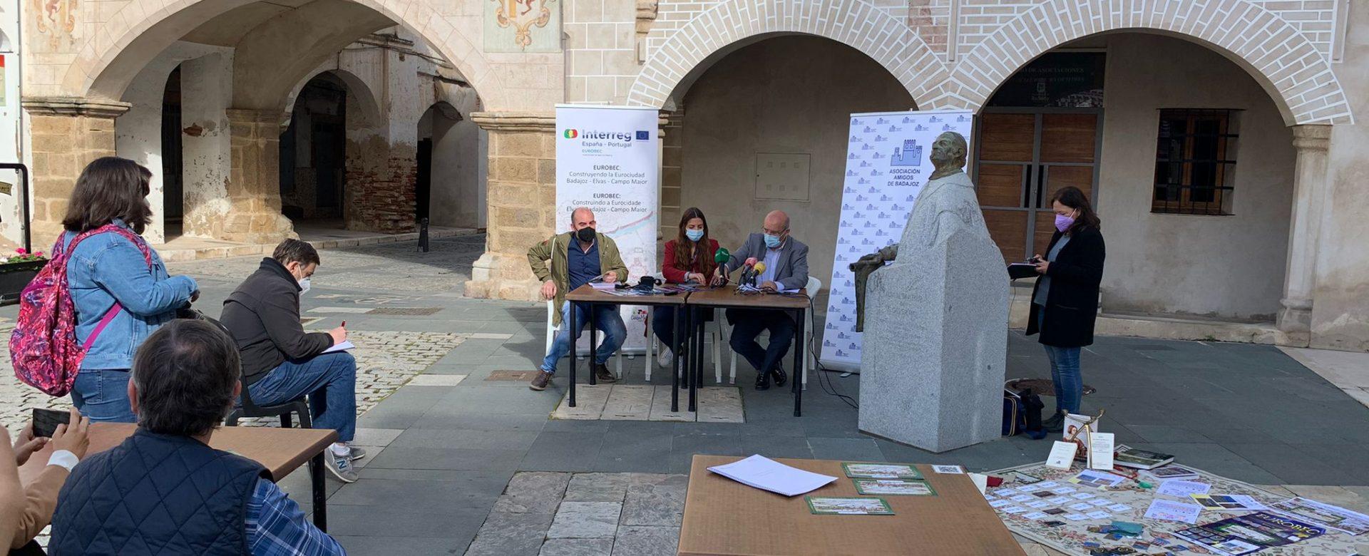 Microacciones de Cooperación en EUROBEC - Presentación de Amigos de Badajoz y ARKUS