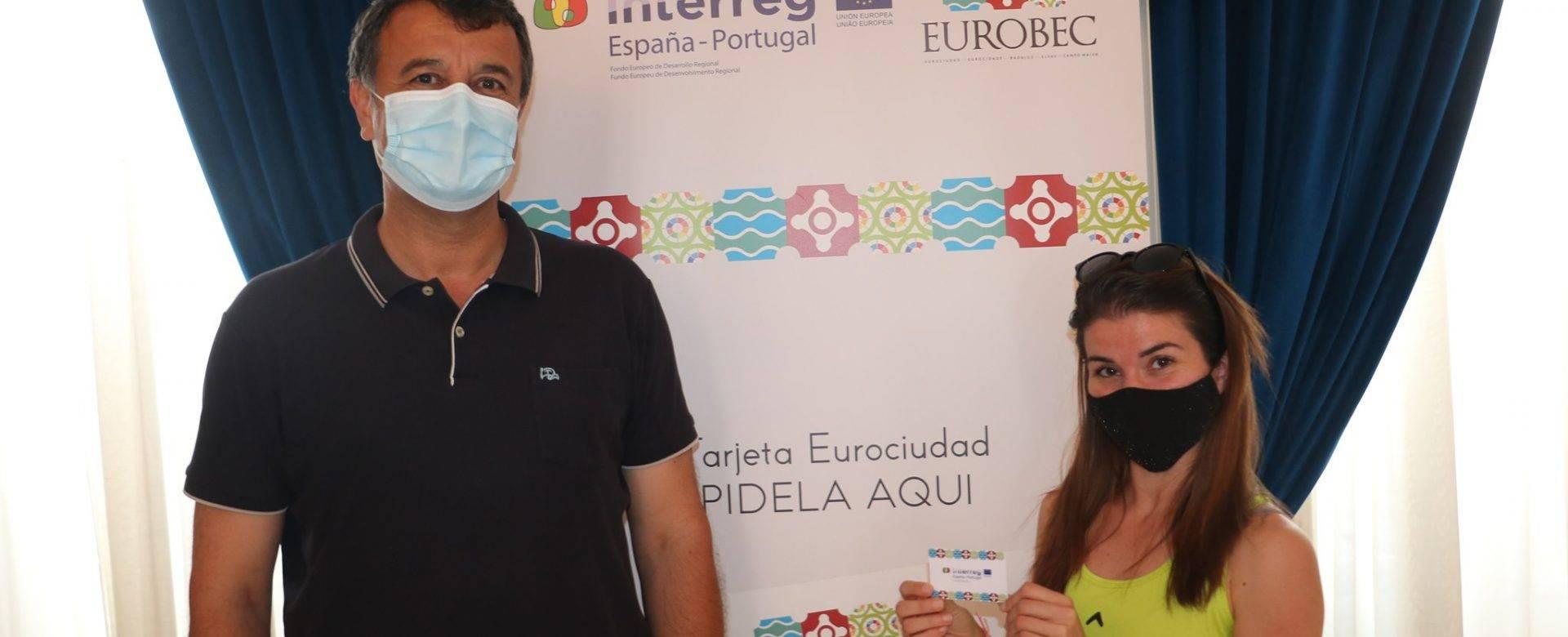 Primera tarjeta EuroBEC entregada en Campo Maior