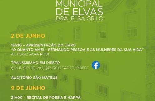 Recital de Poesia e Harpa em Elvas